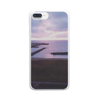 富山県氷見市 Clear smartphone cases