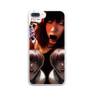 変態鬼才ゆり Clear smartphone cases