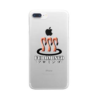 フロミンゴ Clear smartphone cases