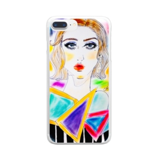 woman60's Clear smartphone cases