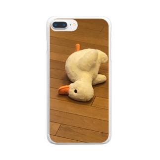 孤独 Clear smartphone cases