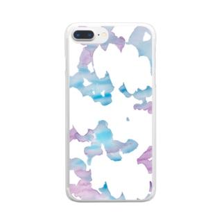 お天気スマホケース Clear smartphone cases