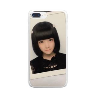証明よはちゃん Clear smartphone cases