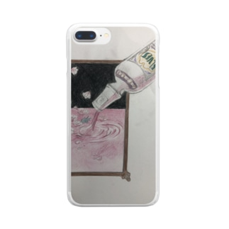 cassis Clear smartphone cases