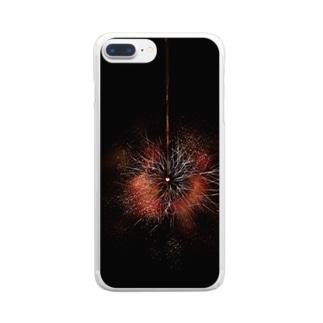 線香花火 Clear smartphone cases