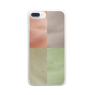 Color. Clear smartphone cases