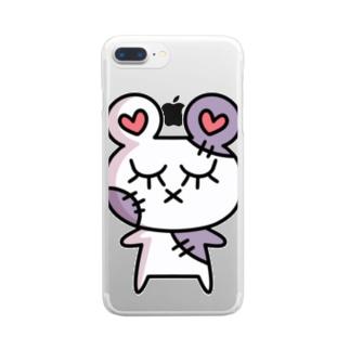 ぞんピ アイテム Clear smartphone cases