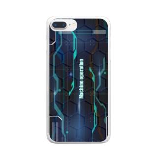 デジタルイラスト Clear smartphone cases