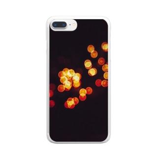 タマ惚け Clear smartphone cases