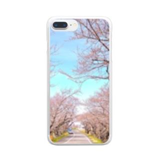 さくら20 Clear smartphone cases