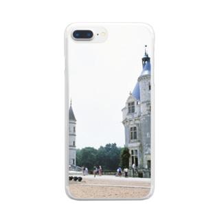 フランス:シュノンソー城 France: Château de Chenonceau Clear smartphone cases