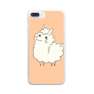 ゆるぱか Clear smartphone cases