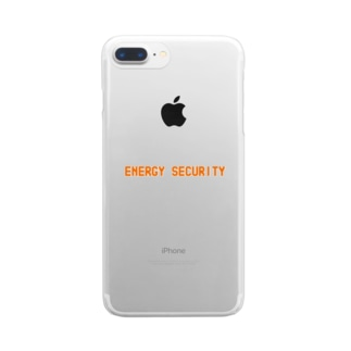 ENERGY SECURITY Clear smartphone cases