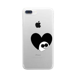 ゴーすけ Clear smartphone cases
