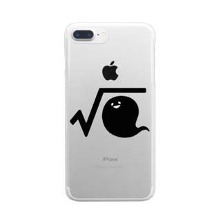 √霊 Clear smartphone cases