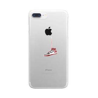 ルーキーズシューズ Clear smartphone cases
