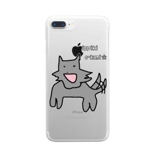 一匹狼 Clear smartphone cases