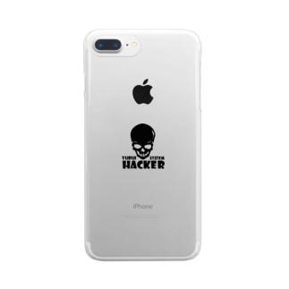 ゆるいハッキング Clear smartphone cases
