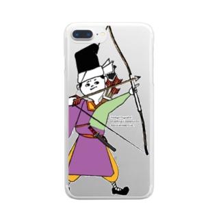秀郷 /弓 (ハード/クリア) Clear smartphone cases
