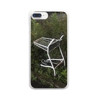 野生のカート Clear smartphone cases
