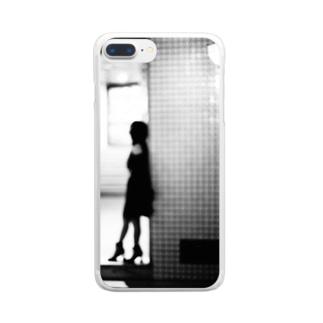 きみの帰りを待つ_01 Clear smartphone cases