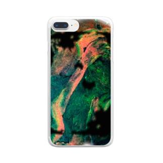 混色 Clear smartphone cases