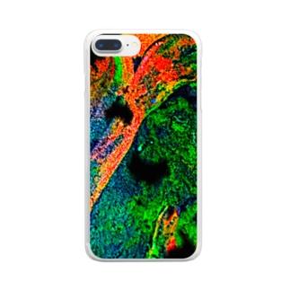 混色2 Clear smartphone cases
