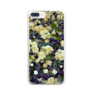 モッコウバラ Clear smartphone cases