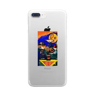 異世界風景録1 Clear smartphone cases