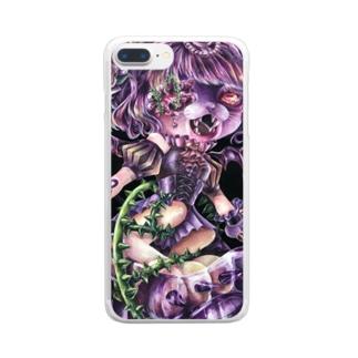 はらぐろいにゃん Clear smartphone cases
