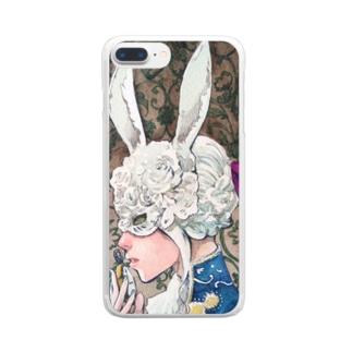 アリスを探して Clear smartphone cases