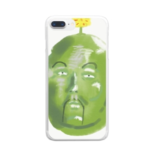そら豆の精霊さん Clear smartphone cases