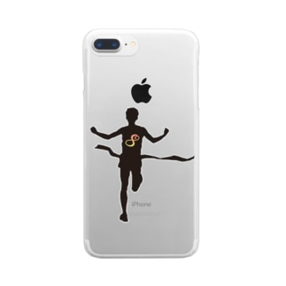 finishers Clear smartphone cases
