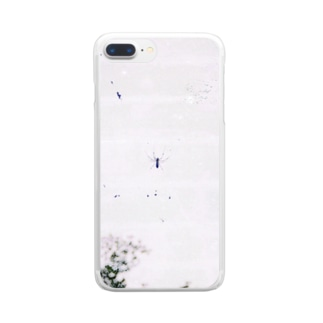pm10:22の蜘蛛 Clear smartphone cases