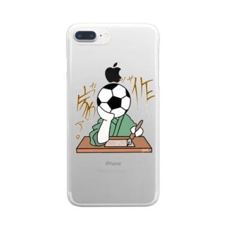 作家ァ。 Clear smartphone cases