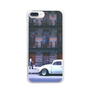 メキシコ:タスコの街角風景 Mexico: street view of Taxco Clear smartphone cases