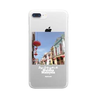 マレーシア・マラッカの街をぶらぶら Clear smartphone cases