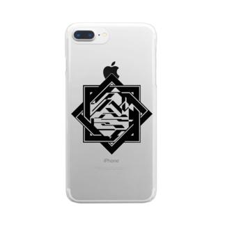 〇吉familia組員グッズ Clear smartphone cases