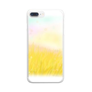 黄金のひかり Clear smartphone cases