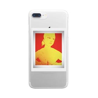 手ぶら Clear smartphone cases