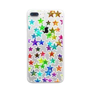 にじ星 Clear smartphone cases