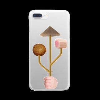 石田 汲のOSB おでん素晴らしい Clear smartphone cases