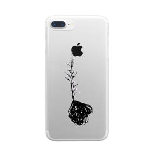ドゥラティー開花 Clear smartphone cases
