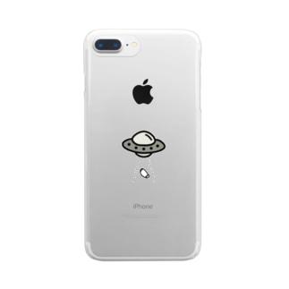 マスク泥棒!! Clear Smartphone Case