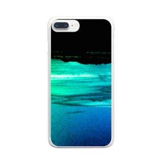 禁断の惑星 Clear smartphone cases