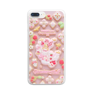 Strawberry Mobile Case Clear smartphone cases