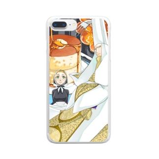 大神官様の大レシピ Clear smartphone cases