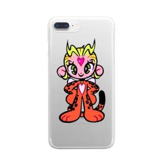 愛のけもの Clear smartphone cases