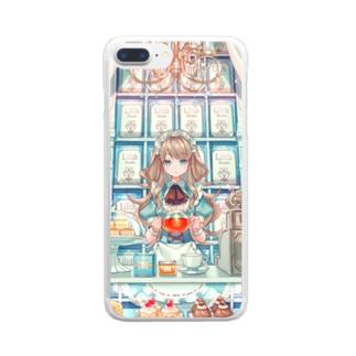 紅茶屋さん Clear smartphone cases