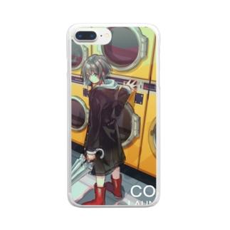 コインランドリー Clear smartphone cases